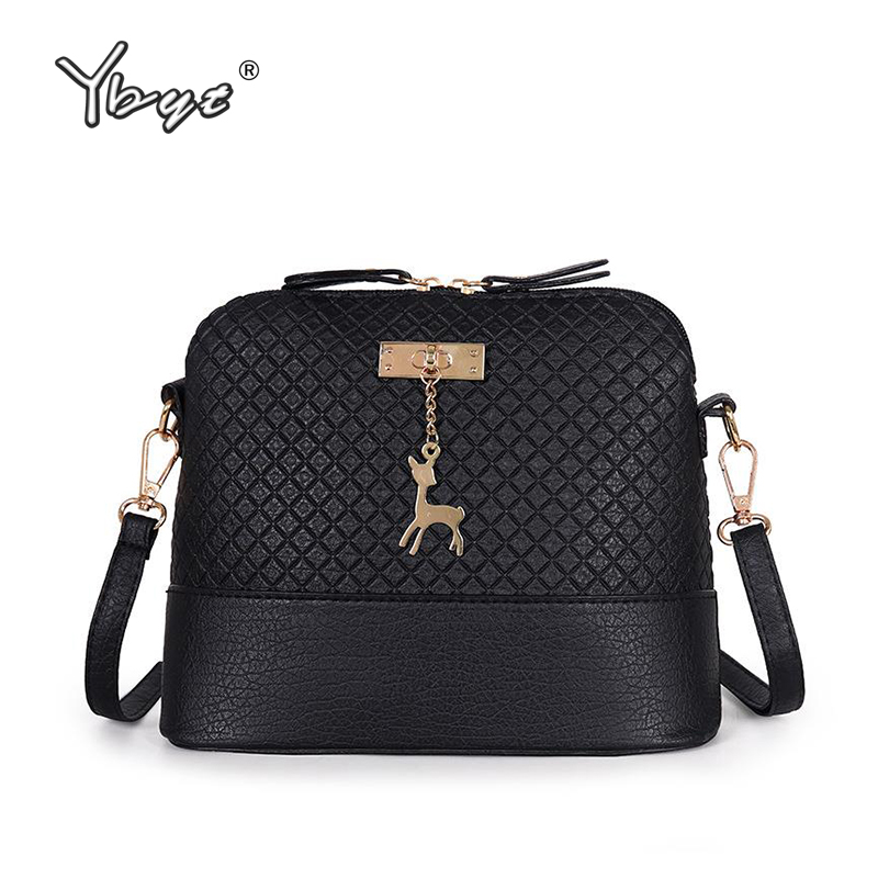 YBYT Brand 2018 New Women Crossbody Bags Simple Fashion Shell Shape Women Small Messenger Shoulder Bag Ladies Hot Sale Handbags