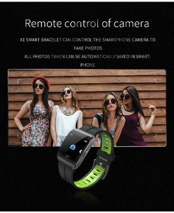 Image 4 - X1 חכם שעונים IP68 עמיד למים לשחייה גברים נשים ספורט Smartwatch 30 ימים ארוך זמן המתנה 1.3 אינץ מסך גדול צמיד