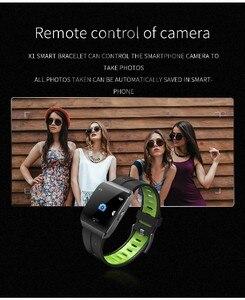 Image 4 - X1 relojes inteligentes IP68 impermeables para nadar hombres mujeres Smartwatch deportivo 30 días Larga modo de reposo tiempo 1,3 pulgadas pulsera de pantalla grande