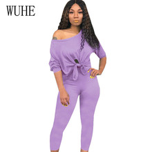 WUHE Plus Size XXL Womens Jumpsuits Casual Two Pieces Sets Lace-up Playsuits Femme Monos Largos Mujer Pantalon Largo Overalls цена