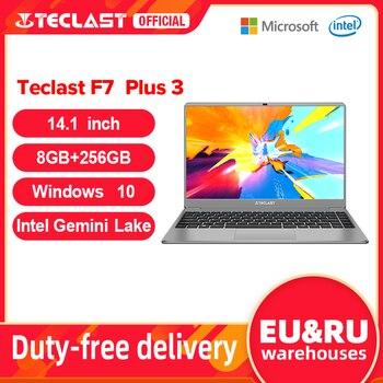 """Teclast F7 Plus 3 Laptop 14.1"""" 1920 x 1080 8GB RAM 256GB SSD Intel Gemini Lake N4120 Windows 10 Dual-band Wi-Fi Notebook USB 3.0 1"""