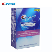 3D 優しいルーチン歯クレストホワイトストリップデンタルケア製品 7/14 ポーチホワイトストリップオリジナル敏感歯のホワイトニング