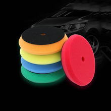 5Pcs Sponge Buff Pads Polishing Waxing Car Wash Mai