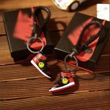 3D Mini baskets porte-clés téléphone portable clé pendentif AJ chaussures cadeau boîte costume cadeaux pour homme petit ami en 2021 cadeau d'anniversaire