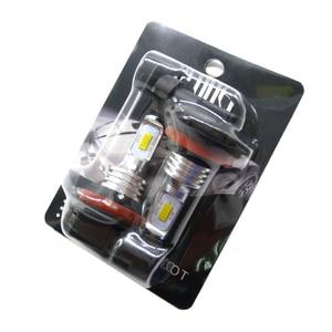 Image 5 - H7 H11 H8 H9 H1 H3 車のledフォグ電球 9006 HB4 自動車運転フォグランプ 6000 18k 3000 3000kゴールデンイエロー 12v 24 12vのledオートライト電球