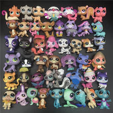 LPS Figure Toys Pet doll toy Kitty Pony Pup Cartoon Movie Animal Action Mini Pet toy collection Rare Glam Kids toy Gift стоимость