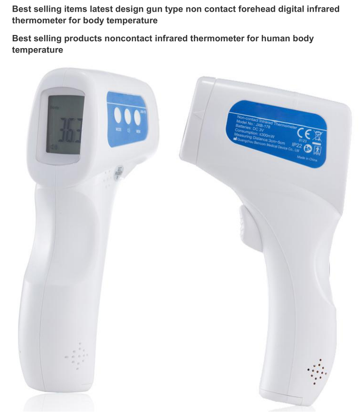 Adult Children Thermometer Measurement Multifunction Infrared Thermometer