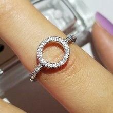 2021 новые модные halo 925 серебро мода кольцо для подарки девочек