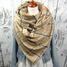 2020 новый дизайнерский брендовый женский шарф модный Мягкий