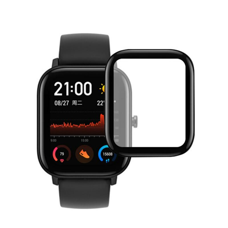 3D Curved Edge Soft Clear Protective Film Cover Full Coverage For Amazfit GTS LCD Screen Protector Guard Not Glass