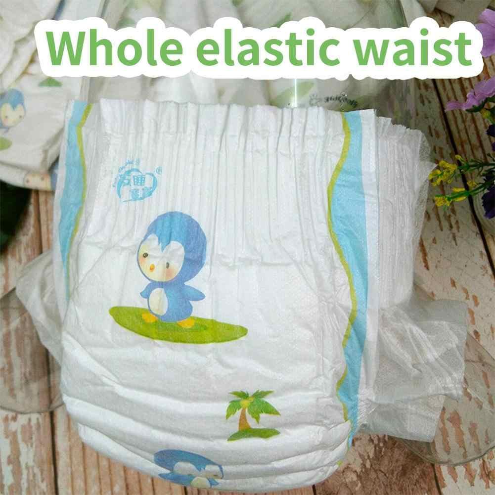 Pañales infantiles transpirables impermeables impresos pañales desechables para bebé 2 tamaños pañales de bolsillo para bebés al por mayor ropa interior