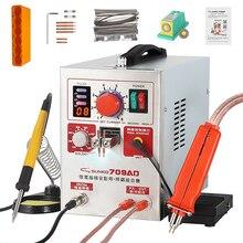 SUNKKO 709AD Spot Schweißer Maschine 2,2 KW Automatische Puls 18650 Batterie Spot Schweißer Maschine Für Präzision Schweißen Von Batterie Packs