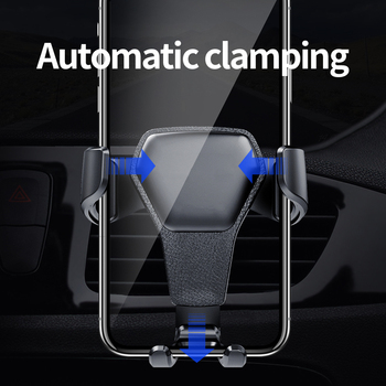 Car Phone Holder For Phone In Car Air Vent Mount Stand No Magnetic Mobile Phone Holder Universal Gravity Smartphone Cell Support 1
