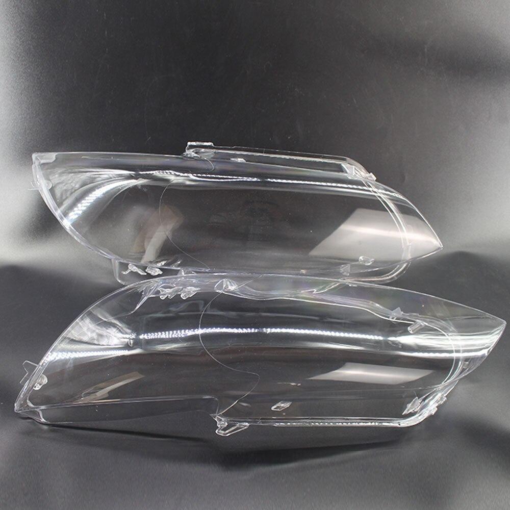 Левый и правый автомобильный головной светильник, объектив, прозрачная крышка, чехол для BMW E92 2006 2009, автомобильный светильник, объектив, нал