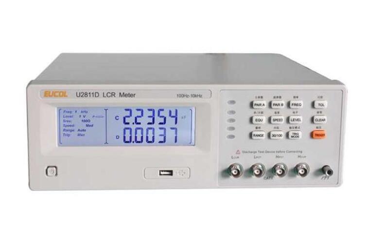 New U2811D Digital LCR Meter Tester 100Hz 120Hz 1kHz 10kHz|Resistance Meters| |  - title=