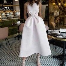Women Elegant Long Dress Sleeveless Bandage Maxi