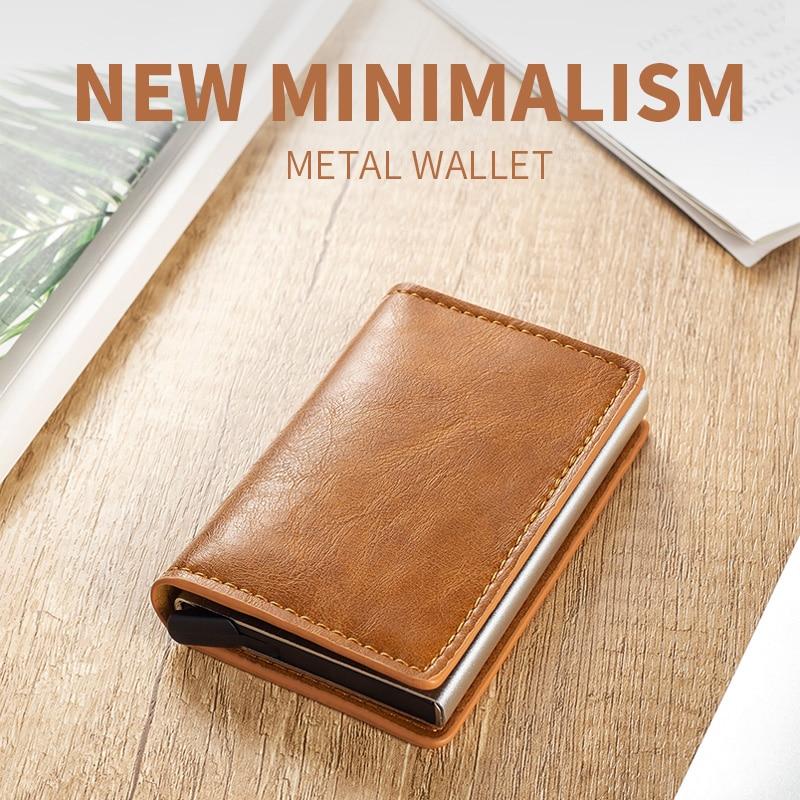 2020 мужской металлический телефон, кредитный телефон из алюминиевого сплава, женский бумажник с защитой от кражи, мужской автоматический вы...