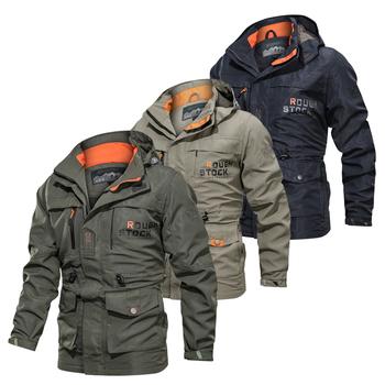Wiosna jesień kurtki pilotki lotu męska kurtka taktyczna wojskowa mężczyźni wiatrówka kurtki-pilotki płaszcz armia chaqueta hombre tanie i dobre opinie JYVIN AUTUMN Winter WindStopper Pasuje prawda na wymiar weź swój normalny rozmiar