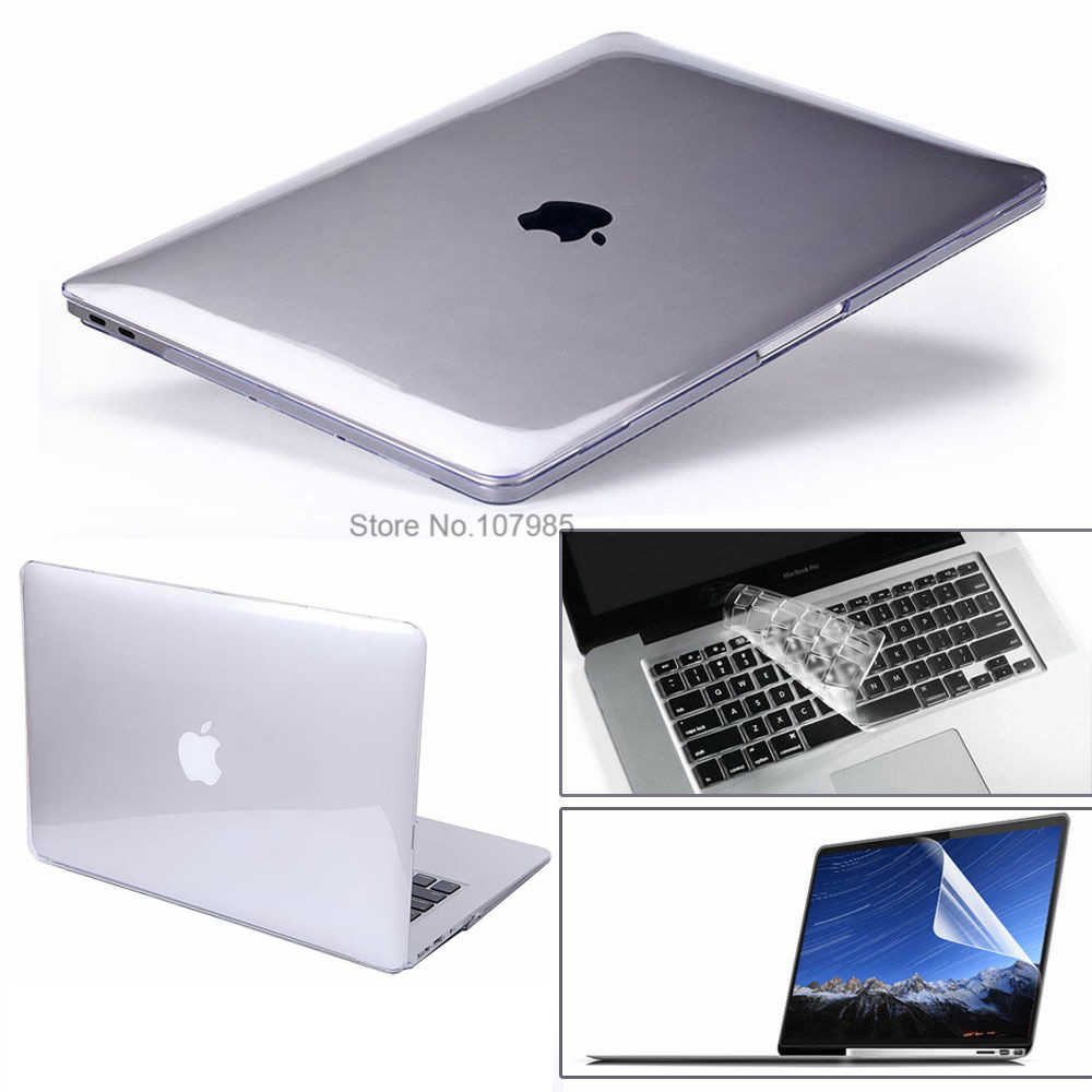 "3 In 1 Voor Mac Book Air 11 ""Pro 13/15"" Retina 12 Cover Case Protector Voor Macbook Air 13 Touch Bar 2018 2017 2016 2012 2013 2015"