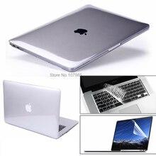 """3 в 1 для Mac Book Air 11 """"Pro 13/15"""" Retina 12 чехол протектор для Macbook Air 13 Touch bar 2018 2017 2016 2012 2013 2015"""