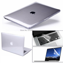 "3 in 1 For Mac Book Air 11"" Pro 13/15"" Retina 12 Cover Case Protector for Macbook Air 13 Touch bar 2018 2017 2016 2012 2013 2015"