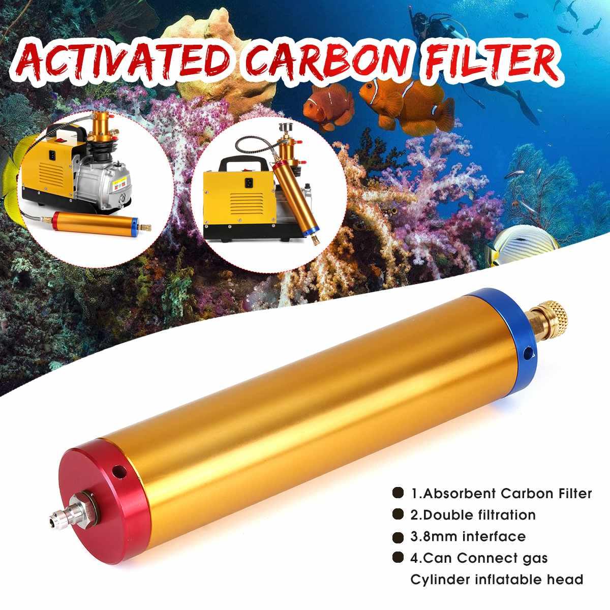 30Mpa Pump Water-Oil Air Filter Separator Scuba Diving Compressor+Female Head