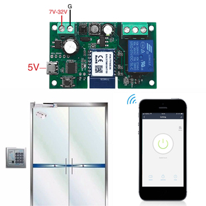 Image 3 - Tuya DC5V 12V 24V 32V WiFiไร้สายโมดูลรีเลย์เดี่ยว Way Inching/Self ล็อคTimingรีโมทคอนโทรลสำหรับGoogle Home