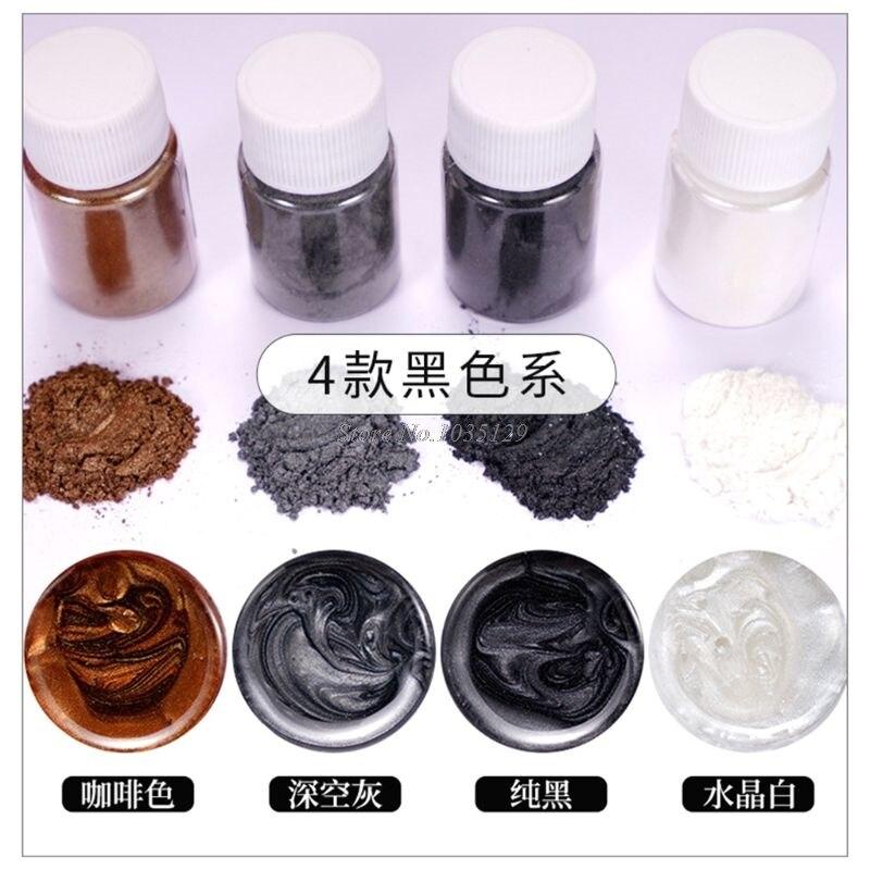 20 Pearlescent powder Epoxy Resin Dye Pearl Pigment Natural Mica Mineral Powder G29 Dropship 6