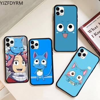 Happy Felice Fairy Tail Phone Case Rubber for iPhone 11 pro XS MAX 8 7 6 6S Plus X 5S SE 2020 XR case image
