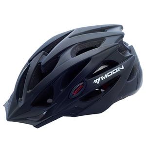 Image 1 - MOON велосипедный шлем Сверхлегкий велосипедный шлем в форме MTB дорожный горный велосипед шлем Casco Ciclismo S/M/L/XL