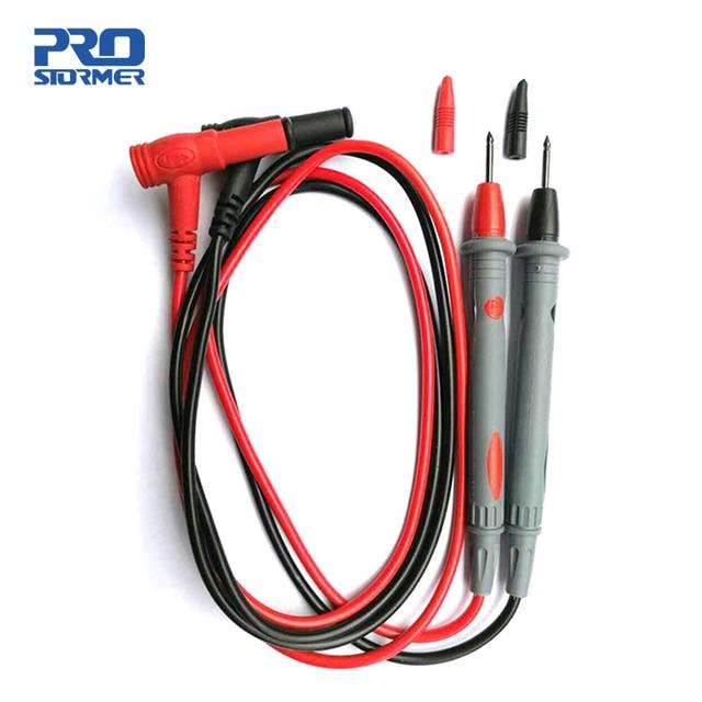 1000V/20A Multi Meter Test Probe Probes Thin Tip Needle for multimeter Digital Multimeter Tester Voltmeter by PROSTORMER