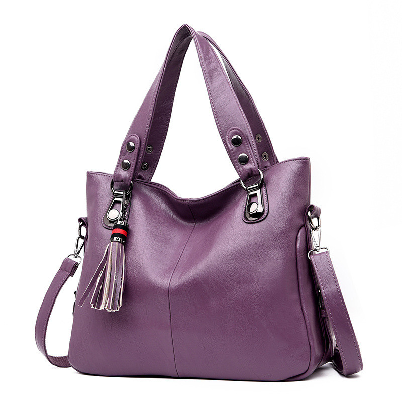 2019 New Fashion Women Bags Tassels Soft Leather Designer Handbags High Quality Shoulder Bags Crossbody Fashion Brand Women Bags