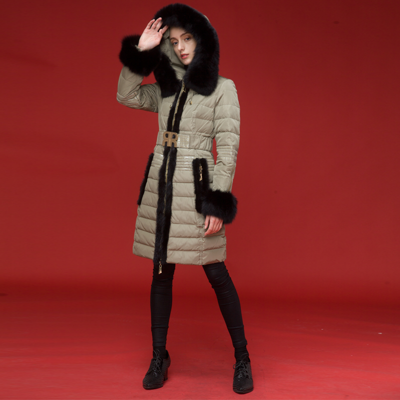 ROYALCAT brand new winter 2019 hooded crashed down jacket and thicken European dress restoring ancient ways