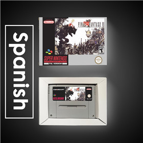 Image 4 - Final Game Fantasy VI 6   EUR Version RPG Game Card Battery Save With Retail Box