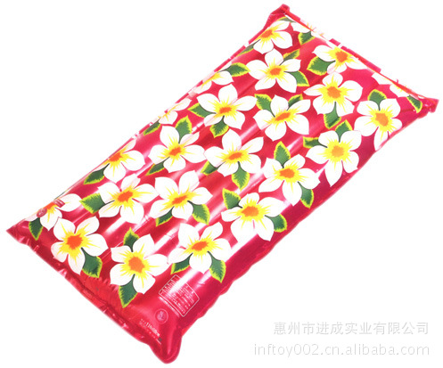 Manufacturers Order Inflatable Water PVC Floating Mat TPU Floating Bed (Variety Transparent Color For Choice)