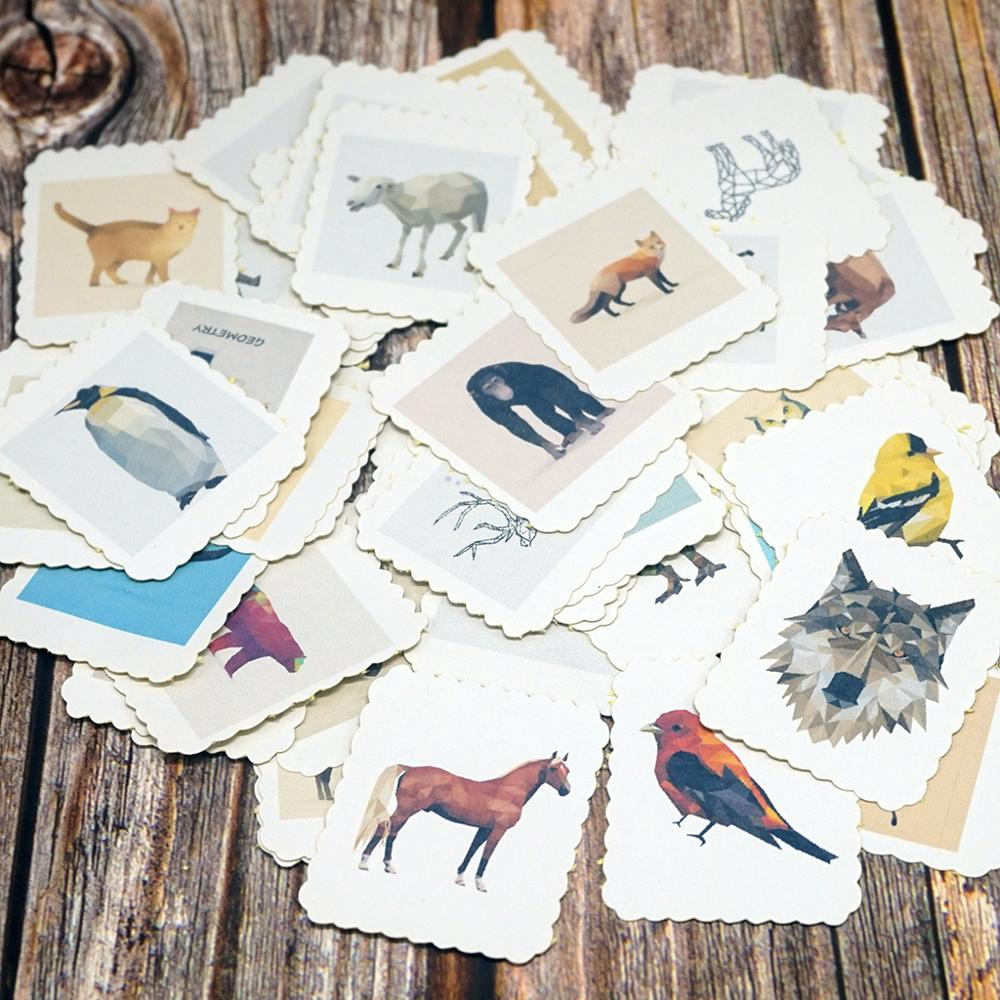 60pcs/Bag Kid DIY Stationery Stickers For Diary Decoration Gift Stickers