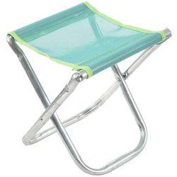 Przenośne aluminiowe składane krzesło stołek siedzenia na zewnątrz wędkowanie Camping piknik wyściełane