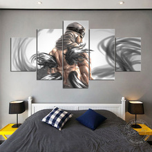 Naruto Figure Kakuzu Anime Poster No Frame Wall Pictures for Living Room Decor Wall Art Canvas Oil Painting Cartoon Painting cartoon anime naruto poster painting nordic style prints modern wall art canvas painting wall pictures for living room decor