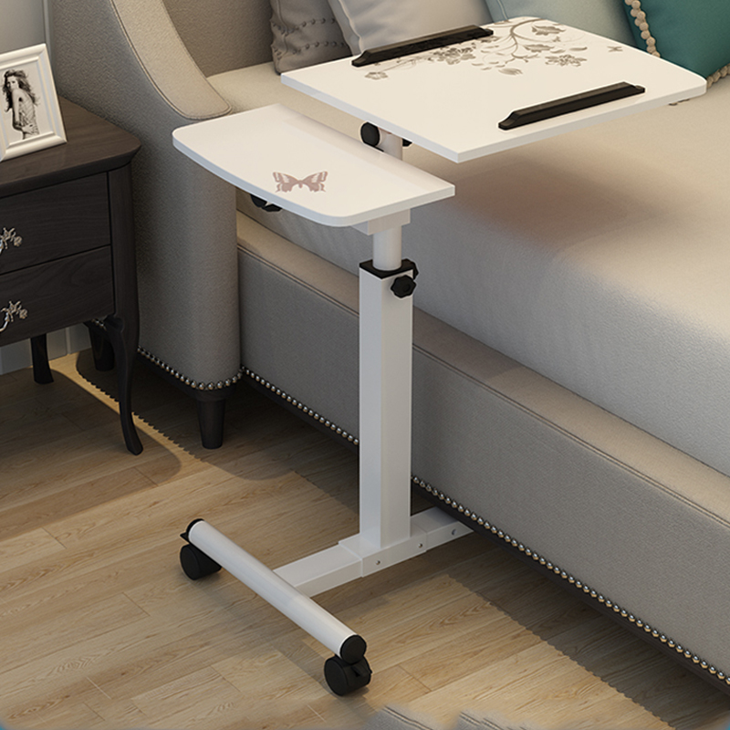 Foldable Computer Table Adjustable Portable Laptop Desk Rotate Laptop Bed Table Can be Lifted Standing Desk стол для ноутбука