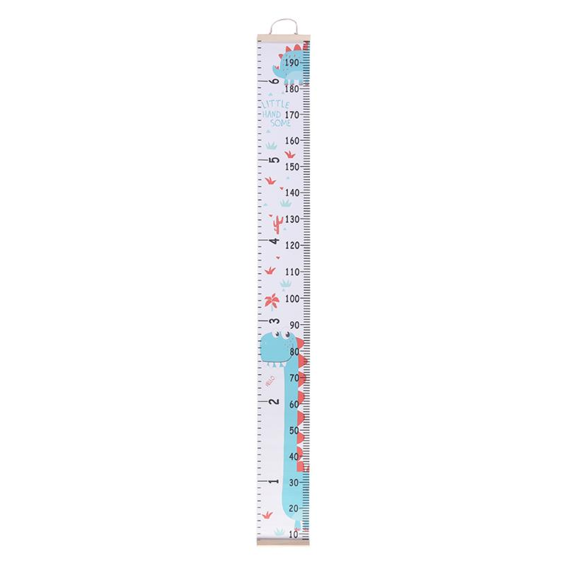Baby Cartoon Height Measure Ruler Elaborate Manufacture Prolonged Durable Kids Wall Hanging Growth Chart Decor Sticker