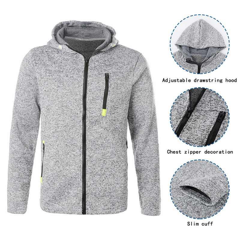 男性のクラシックパーカーコート Sweatershirt 男性秋ジッパーパッチワーク Sweatershirts 男性ジャケット因果パーカーストリートウインドブレーカー