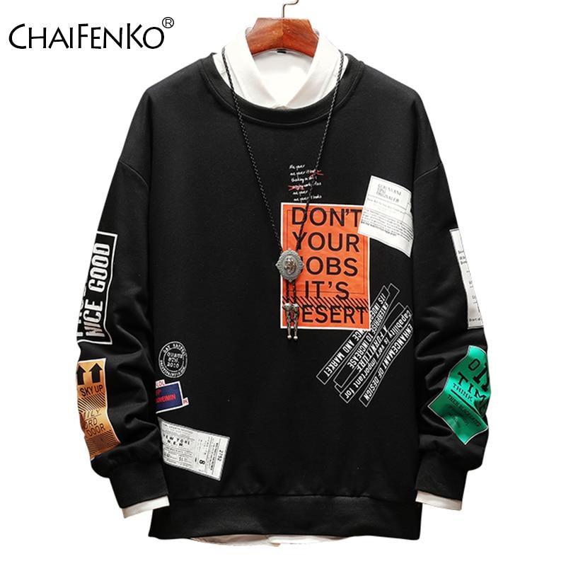 CHAIFENKO Fashion Brand Men Hoodies Sweatshirts 2020 Spring Autumn Pri
