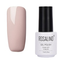 ROSALIND Gel 1S Gel Nail Polish Nail Art Gray Colors Hybrid Varnishes LED UV Gel Polish Semi Permanent For Nails Manicure RC2902(China)