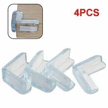 4 шт детская безопасная настольная Подушка-накладка на углы, защитный бампер, утолщенный защитный коврик, безопасный защитный чехол