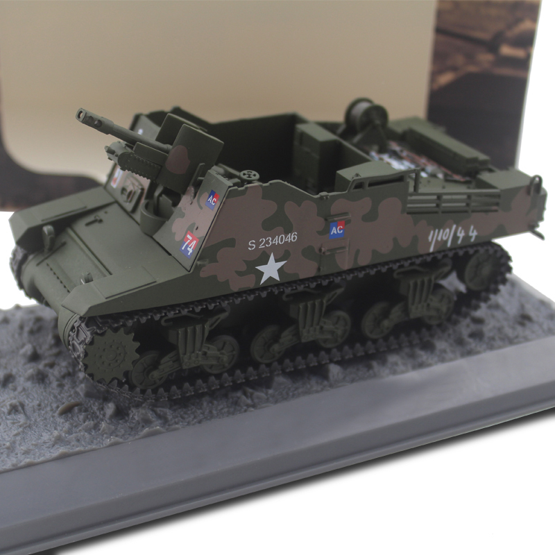 Rare  1/43  Sexton II 25-pounder Polish 1st Armoured Division  Finished Alloy Model