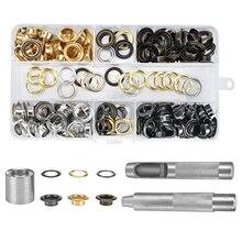 Eyelet Pliers-Set Paper-Fabric for Tarpaulin Bags Grommet-Tools-Kit 10mm/13mm
