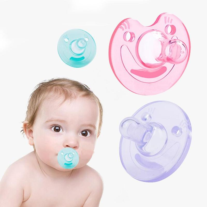 4 Styles Baby Soother Pacifier Silicone Baby Pacifier Infant Nipple Soother Toddler Kids Pacifier Sleepy Baby Thumb Play Mouth