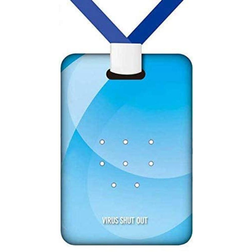Anti Virus Air Purifier Antibacterial Air Freshener Sterilization Card Disinfection Air Cleaner Card Lanyard Protection Card (1)