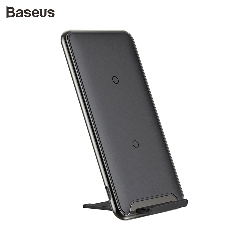 Baseus Qi 10W 3 Coil Wireless charger fast charging charger For iPhone X Samsung Galaxy S9