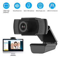 Cámara Web de alta definición Q9 1080P con micrófono, cámara USB, cámara Web para ordenador, cámaras de PC para videoconferencia, transmisión en vivo, Chat en línea